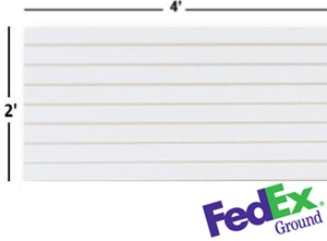 FedEx Shippable Slatwall