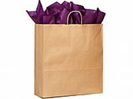 Large Paper Shopper (Brown)