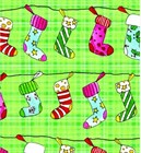 "Christmas Giftwrap ""Stocking Plaid"""
