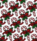 "Christmas Giftwrap ""Candy Canes & Bows"""