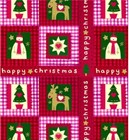 "Christmas Giftwrap ""Holiday Gingham"""