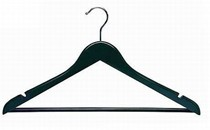 Black Suit Hanger w/ Bar