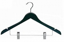 Black Combination Hanger w/ Clips