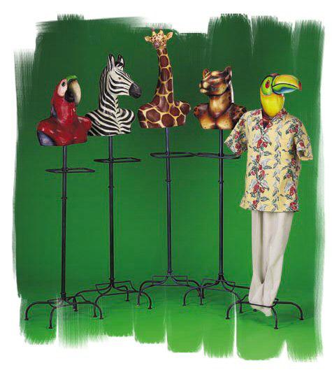 Animal Mannequins