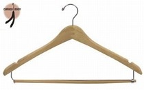 Contoured Suit Hanger w/ Bar