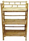 Bamboo 3 Tier Folding Shelf