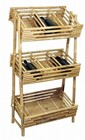 Bamboo 3 Tier Rack