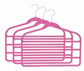 Slim-Line Hot Pink Multi Pant Hanger